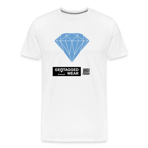 Unisex Diamond Pantone Little Boy Bluewass - Männer Premium T-Shirt