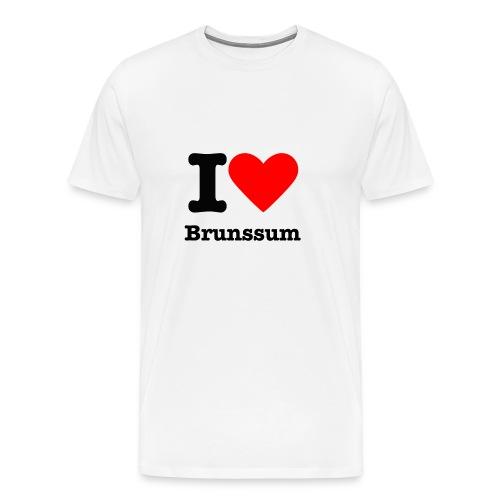 I love Brunssum - Mannen Premium T-shirt
