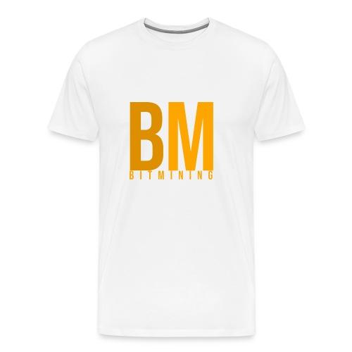 BitMining official Logo - T-shirt Premium Homme