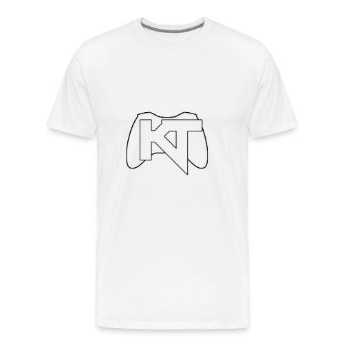 Kwalitijd iphone4/4s Hoesje - Mannen Premium T-shirt
