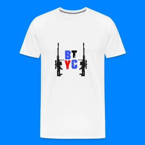 Blurixincommander YT AS50 Logo - Männer Premium T-Shirt