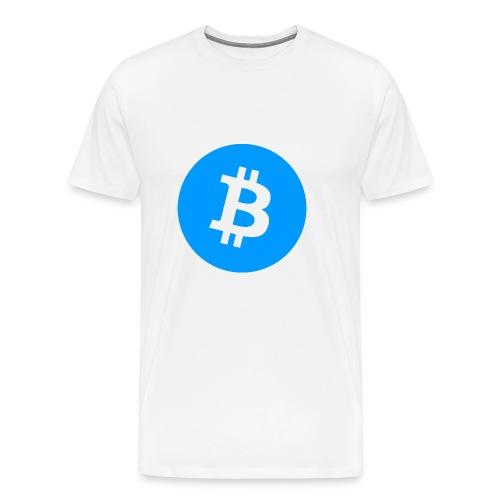 Bitcoin T-shirt - Premium-T-shirt herr