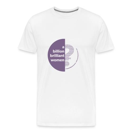 Circle Logo - Men's Premium T-Shirt