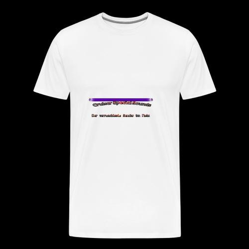 cssder - Männer Premium T-Shirt