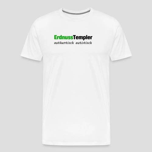 Authentisch, autistisch - Männer Premium T-Shirt