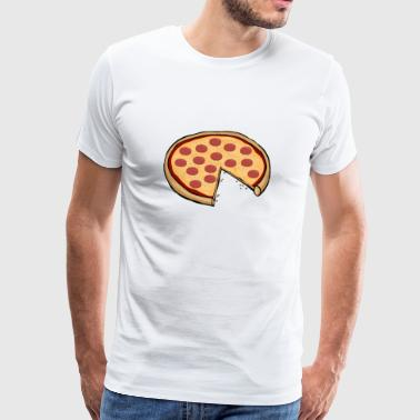 Pizza famiglie Partner paio di regalo genitori del bambino - Maglietta Premium da uomo