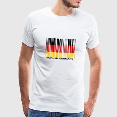 Geboren in Duitsland - Mannen Premium T-shirt