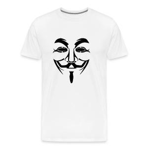 anonym vendetta - Männer Premium T-Shirt