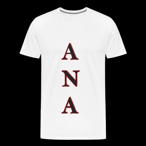 ANA - Camiseta premium hombre