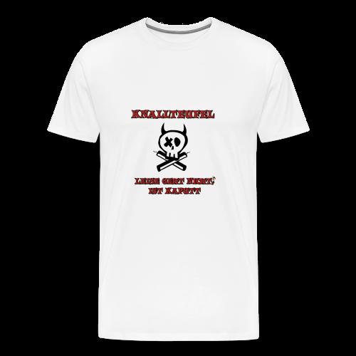 Knallteufel - Männer Premium T-Shirt
