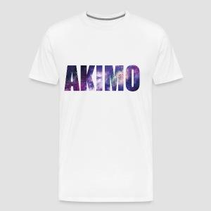 AKIMO Basic Galaxy - Männer Premium T-Shirt