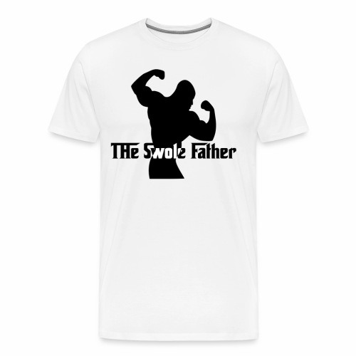 The Swole Father - Premium-T-shirt herr