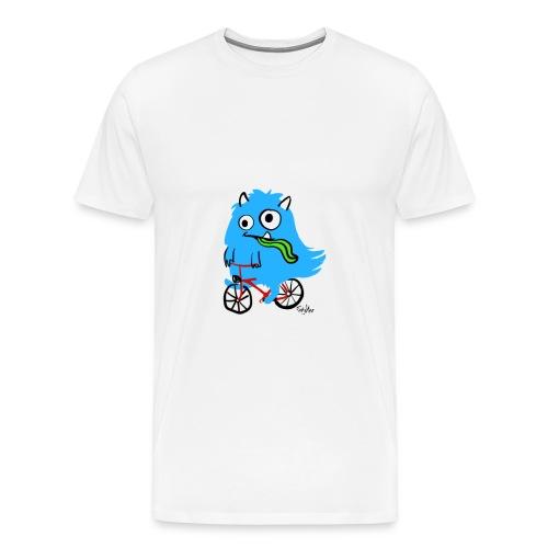 Schlabbergesicht - Männer Premium T-Shirt