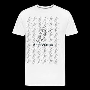 Affi Vlogs All over Tee - Männer Premium T-Shirt