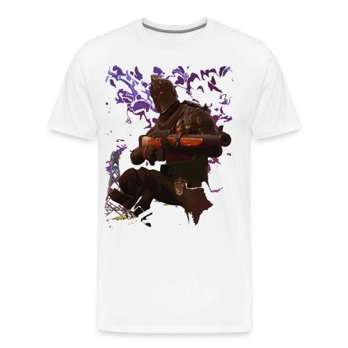 Black Knight - Faded - Men's Premium T-Shirt