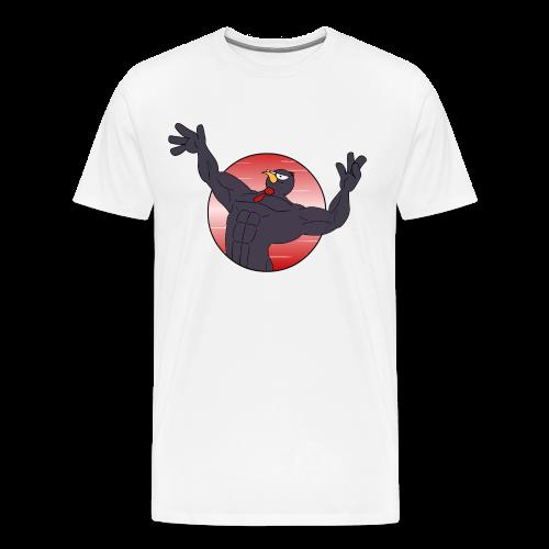 Muskeli Raineri 2 - Miesten premium t-paita