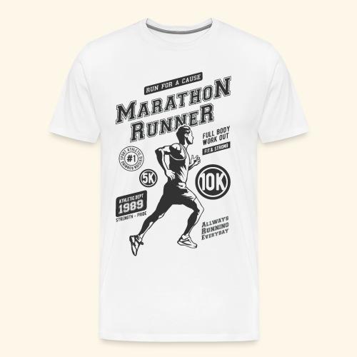 1989 MARATHON RUNNER Jogger Sport Geschenke Shirts - Männer Premium T-Shirt