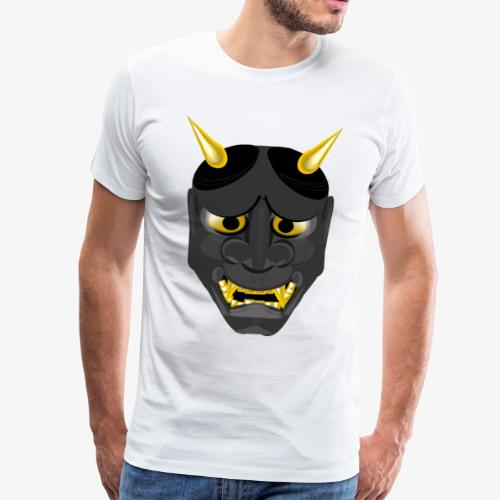 Demon Mask Black - Men's Premium T-Shirt