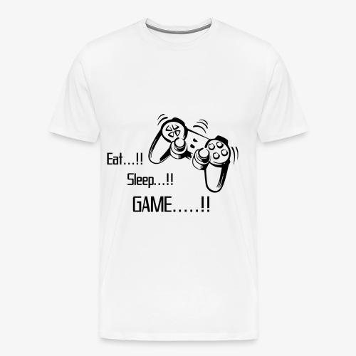 eat sleep game joy pad - Men's Premium T-Shirt