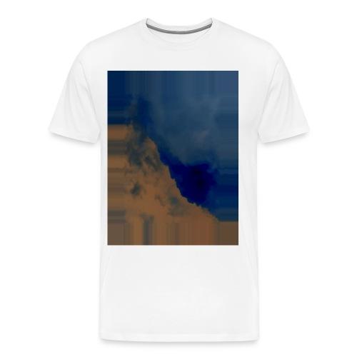 Himmel bearbeitet - Männer Premium T-Shirt