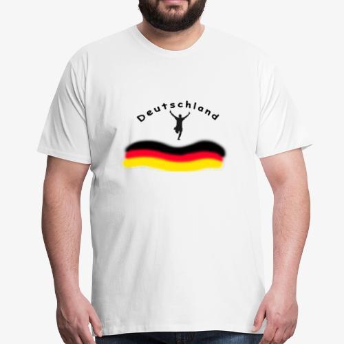 Fussball WM Weltmeisterschaft - Männer Premium T-Shirt