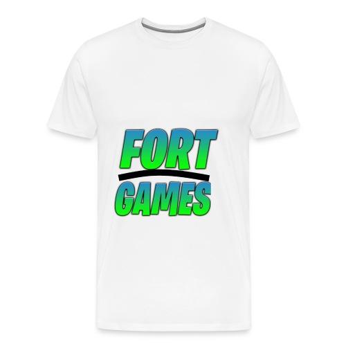 FortGames Merch - Männer Premium T-Shirt