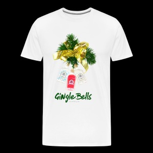 GINgle Bells - Männer Premium T-Shirt