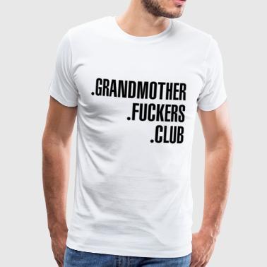 mummo Club - Miesten premium t-paita
