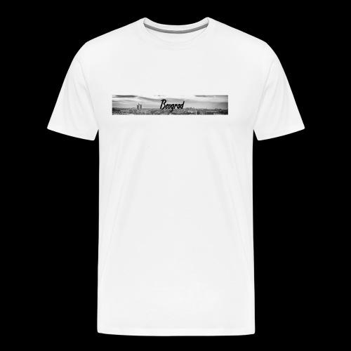 Volimo Beograd - Männer Premium T-Shirt