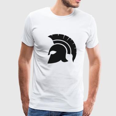SPARTA GRECJA SPARTAN WARRIOR GIFT - Koszulka męska Premium
