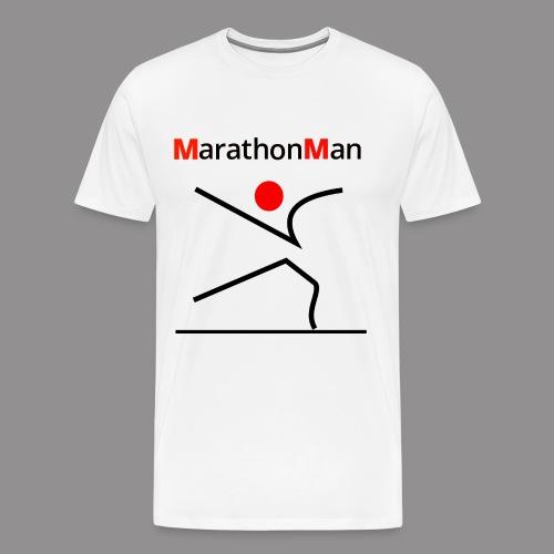 MarathonMan 3 - Mannen Premium T-shirt