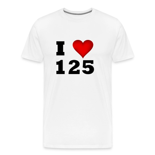 I Love 125 - Männer Premium T-Shirt
