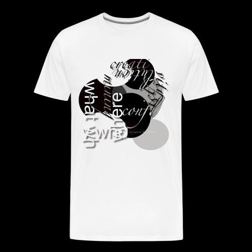creativ prozess - Männer Premium T-Shirt