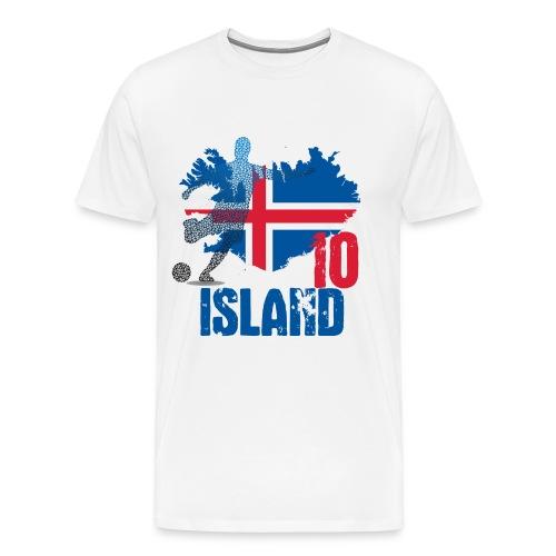Island Tee 10 - Männer Premium T-Shirt