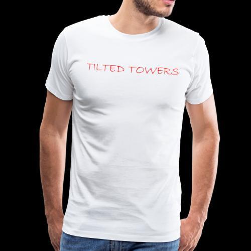Tilted Towers - Männer Premium T-Shirt