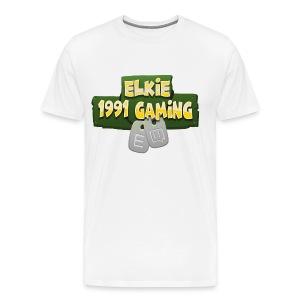 Elkie1991 Gaming Logo - Men's Premium T-Shirt