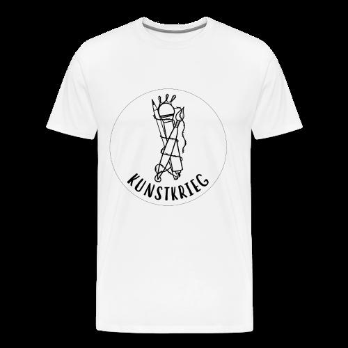 Kunstkrieg Band-Logo - Männer Premium T-Shirt