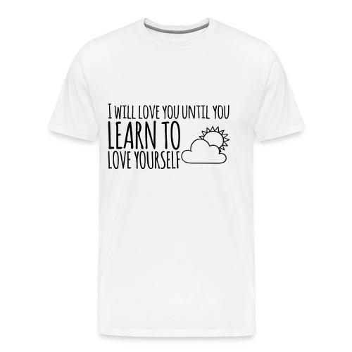 Love yourself - Camiseta premium hombre