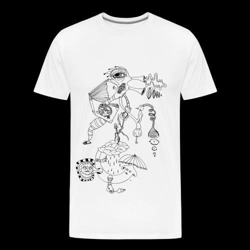 subconscientes colectivos II - Camiseta premium hombre