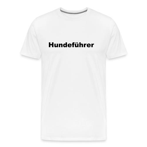 Hundefuehrer - Männer Premium T-Shirt