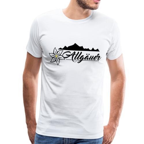 Allgäuer Design - Männer Premium T-Shirt