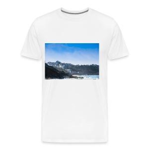 Côte Basque, brume et embruns. - T-shirt Premium Homme