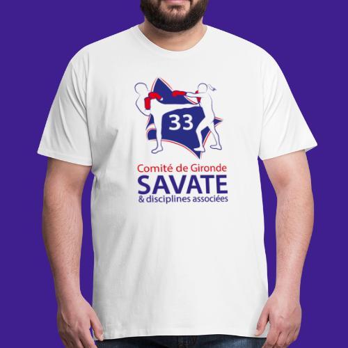 Comité Savate 33 - T-shirt Premium Homme