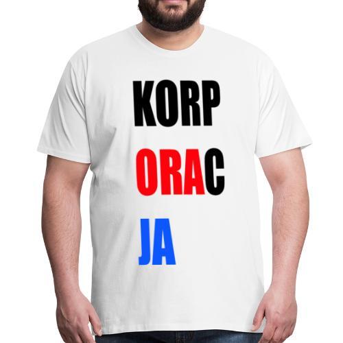 Korporacja - Koszulka męska Premium