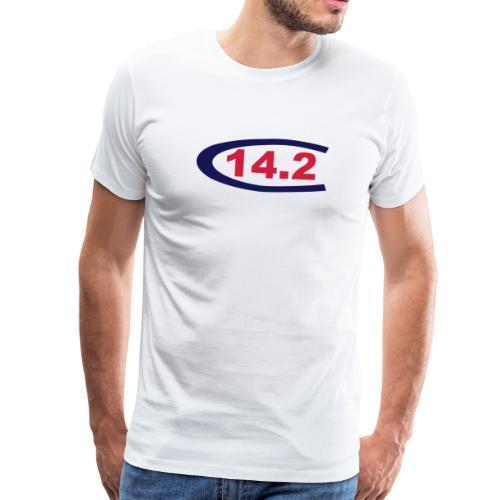 Capri 14 2 sailing class logo - Männer Premium T-Shirt