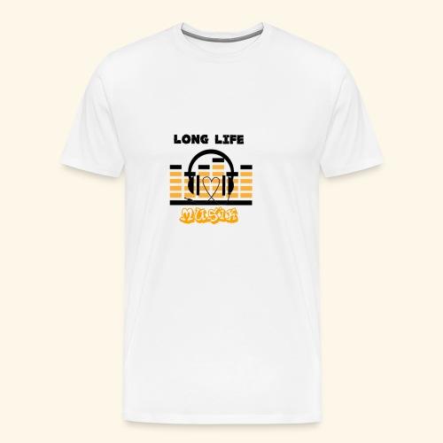 MusicFan - Männer Premium T-Shirt
