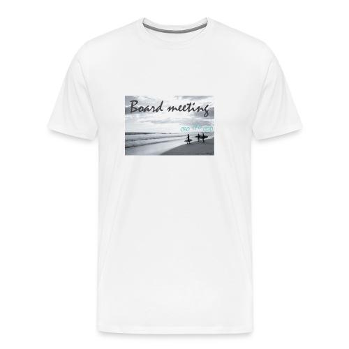 Board meeting - Männer Premium T-Shirt