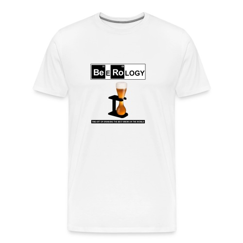 Beerology Cool Beer Gift - Men's Premium T-Shirt