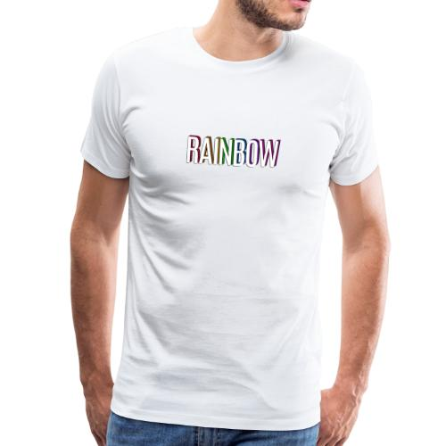 rainbow regenbogen - Männer Premium T-Shirt