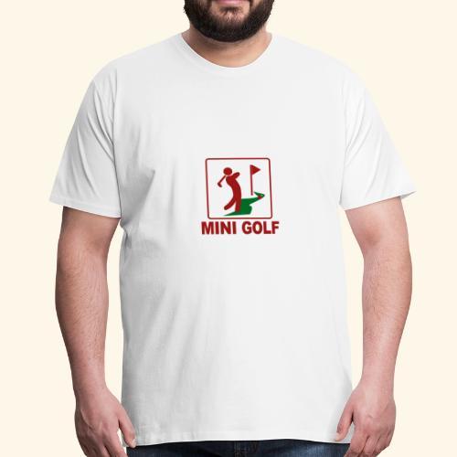 Minigolf - Männer Premium T-Shirt